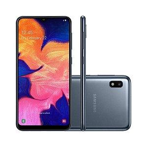 """Smartphone Samsung Galaxy A10 32GB, Tela Infinita de 6.2"""", Câmera Traseira 13MP, Dual Chip, Android 9.0 e Processador Octa-Core"""
