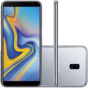 """Smartphone Samsung Galaxy J6+ Vermelho 32GB, Tela infinita de 6"""", Dupla Câmera Traseira, Câmera Frontal de 8MP, 3GB RAM, Dual Chip, Android 8.1"""