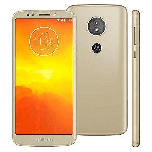 "Smartphone Motorola Moto E5 32GB Ouro 4G - Quad Core 2GB RAM Tela 5,7"" Câm. 13MP + Selfie 5MP"