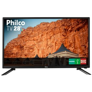 "TV LED 28"" Philco PH28N91D HD com Conversor Digital 1 USB 1 HDMI - Philco"
