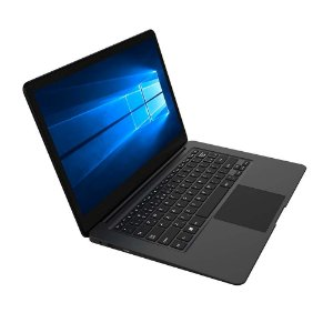 "Notebook Legacy PC120 Cloud Intel Quad Core 2GB 32GB 14"" HD Windows 10 Preto  - Multilaser"