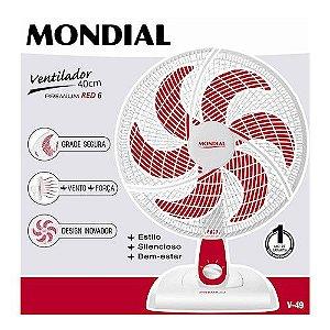 Ventilador 40cm Red Premium 220V - Mondial