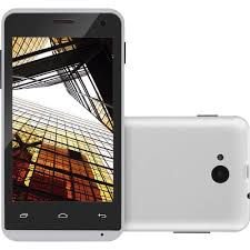 Smartphone Multilaser MS40 Tela 4 pol. Câmera 2 MP + 5 MP 3G Quad Core 4GB Android 4.4