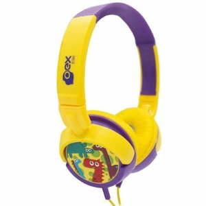 Headphone Kids Dino ou Boo Infantil Oex