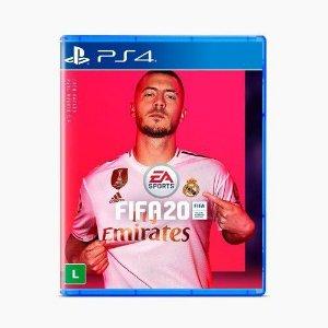 Jogo Fifa 20 Ps4 Playstation 4 Mídia Física Lacrado