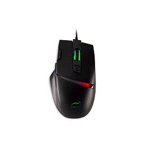 Mouse Gamer Legacy RGB, 6400 DPI, 3 Botões Programáveis 625241 - Dazz
