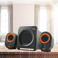 Caixa de Som Sk-500 Speakers Booster 30W USB - Oex