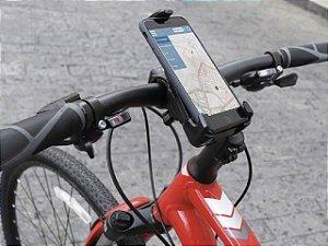 Suporte de Guidão Ajustável para Smartphone para Bicicletas e Motos SB100 - Newlink