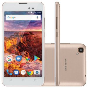 Smartphone Ms50l 3g Quadcore 1gb Ram Tela 5 Pol. Dual Chip Android 7 - Multilaser