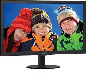 "Monitor para PC Full HD Philips LED Widescreen 21,5"" V5 223V5LHSB2 - Philips"