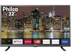 "Smart TV LED 32"" Philco​ PTV32G50SN HD com Conversor Digital 2 HDMI 1 USB Wi-Fi Áudio Dolby - Philco"