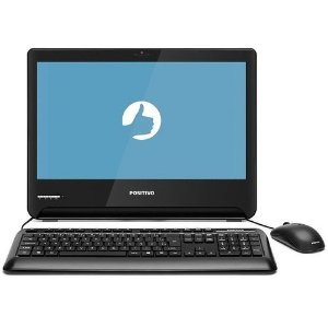 Computador All In One Positivo 1701293 Master A2100 Core I3-7100U 4GB 500GB 18,5'' Preto