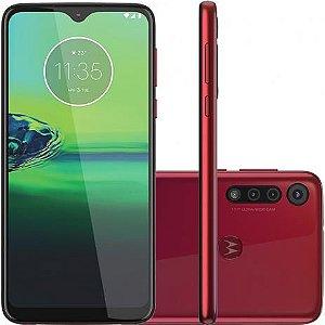"Smartphone Motorola G8 Play 32GB 2GB RAM Tela 6,2"" Câm. Tripla + Câm. Selfie 8MP - Motorola"
