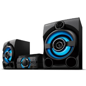 Mini System Sony MHC-M60D Bluetooth MP3 USB HDMI DVD 1600W