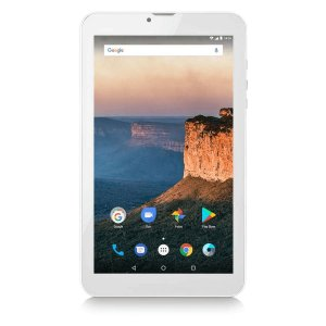 Tablet Multilaser M9 3G 1GB 8GB 9 Pol. Quad Core Dual Câmera Dual Chip - Cinza