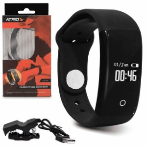 Pulseira Atrio Fitness Monitor Cardíaco Pedômetro Medidor de Calorias - ES174