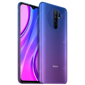 Smartphone Xiaomi Redmi 9 Dual Chip 128GB, 4GB, Sunset Purple - versão global
