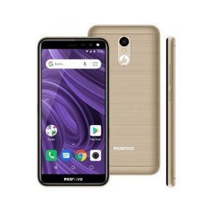 Smartphone Positivo S512 Twist 2, Dourado 16GB, 1GB RAM
