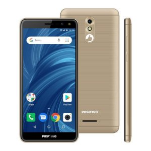 Smartphone Positivo Twist 2 Pro, 32GB, 1GB RAM - dourado