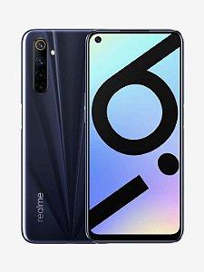 """Smartphone Realme 6i tela 6.5"""" 64GB RAM 3GB câmera 48MP"""