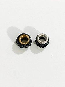Separador pedrinhas separadas pretas