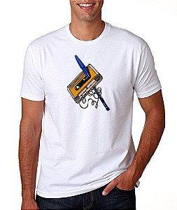 Camiseta Caneta Azul