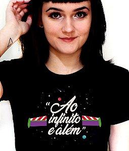Camisetas Ao Infinito e além