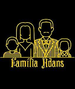 Camiseta Família Adans