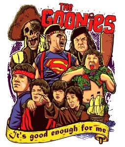 Camiseta The Goonies