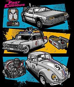Camisetas Carros Filmes Clássicos