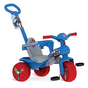 Triciclo Veloban Passeio Vingadores - Bandeirante - 2802