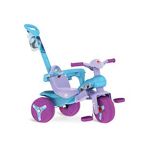 Triciclo Frozen Veloban Passeio Disney Lilás Bandeirante - 2479