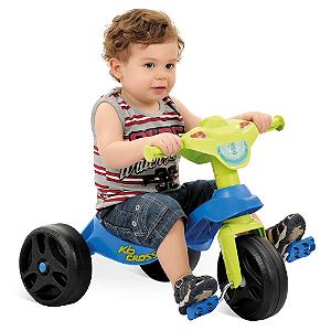 Triciclo Bandeirante Kid Cross Azul -  628