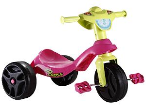 Triciclo Bandeirante Kid Cross - Rosa - 627