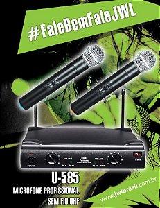microfone jwl u 585 mm