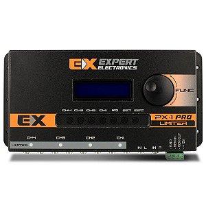 Crossover Expert Eletronics PX-1 4 Canais Processador de Áudio Equalizador Digital Banda