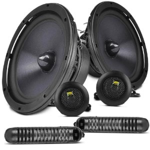 "Kit 2 Vias Bravox 6"" CS60BK 165W RMS 4 Ohms"