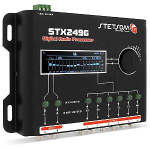 Equalizador Stetsom Stx2496 Processador Digital 15 Bandas Automotivo