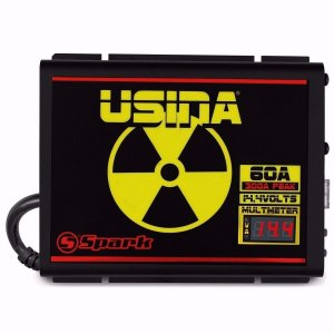 Fonte Automotiva Digital Spark Usina 60A Smart Cooler Bivolt com Medidor de Bateria