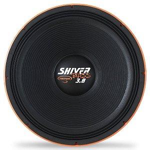 Alto Falante Woofer Triton Shiver Bass 3.8k 15 Pol 1900w Rms (Laranja)