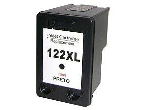 CARTUCHO COMPATÍVEL HP 122 XL 12ML PRETO MICROJET