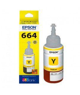 REFIL DE TINTA EPSON T664 420 70ML AMARELO
