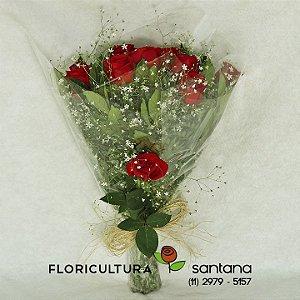 Buquê de Rosas Elegance