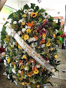 Coroa de flores para Velório 2
