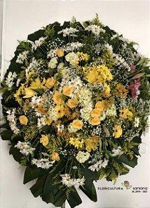 Coroa de flores para Velório 4