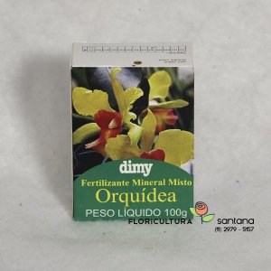 Fertilizante para Orquídeas Mineral Misto 100g