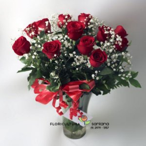 Buquê de Rosas no Acrílico