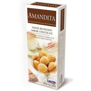 Amandita LACTA de Chocolate Caixa 200g