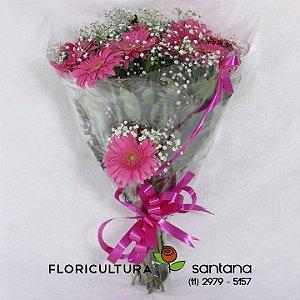 Buquê Gérberas Rosas