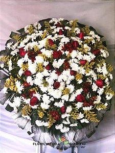 Coroa de Flores Medalhão 1